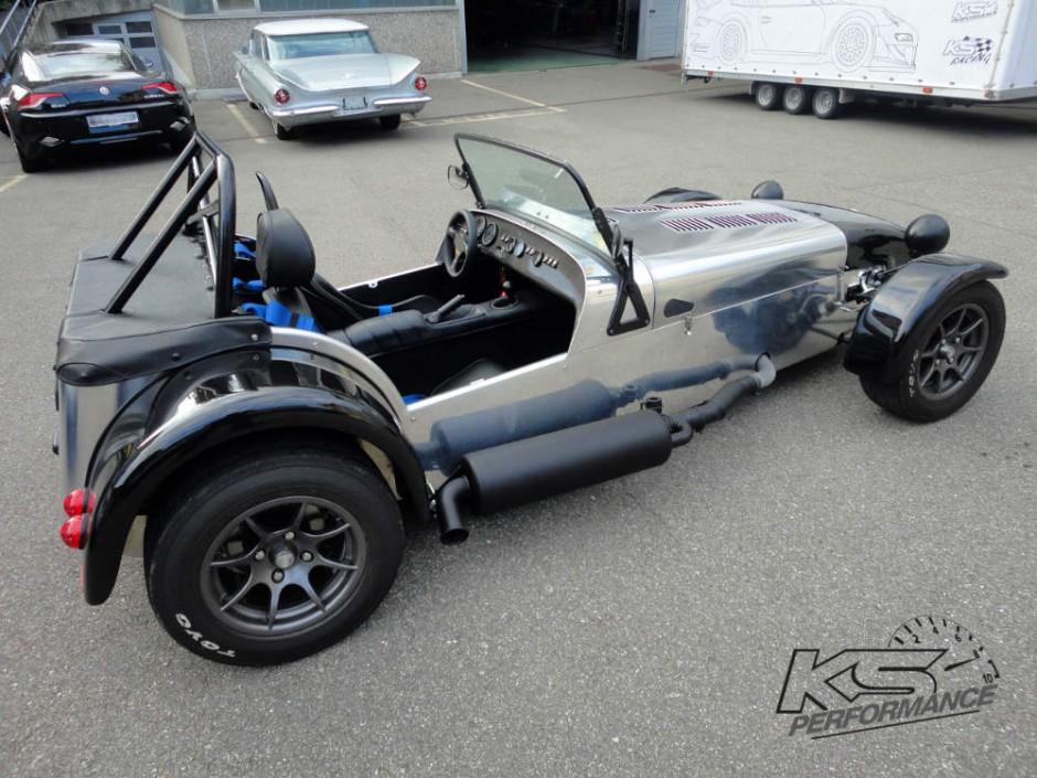 Caterham Seven 1-KS-Automotive-KS-Performance-KS-Classic-KS-Racing-Edelstahlauspuff-Chromstahlauspuff-Fächerkrümmer-Inox-Exhaust-Header
