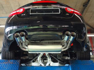 Jaguar-XKR-KS-Performance-by-KS-Automotive-AG--Edelstahlauspuff-Chromstahlauspuff-Anfertigung-inox-exhaust-manufacturing-stainless-steel-manufacturing