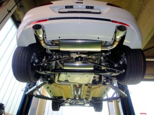 Opel Astra OPC KS Performance by KS Automotive AG  Edelstahlauspuff Chromstahlauspuff Anfertigung inox exhaust manufacturing stainless steel manufacturing