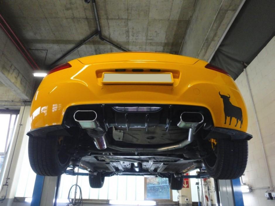 Peugeot RCZ 1 KS Automotive KS Performance Exhaust